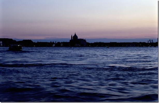 Venedig Abendhimmel