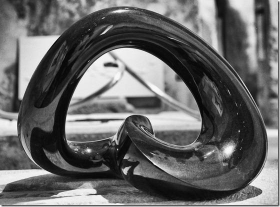 Skulptur Knoten 2 Kopie