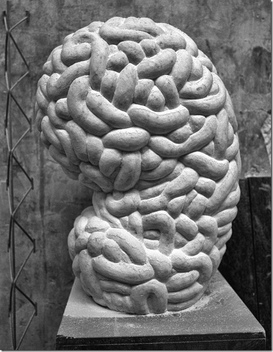 Skulptur The Brain Kopie
