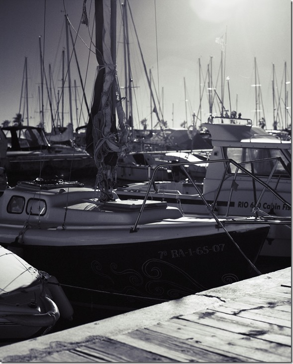 IR Boote in Sonne BW 3200