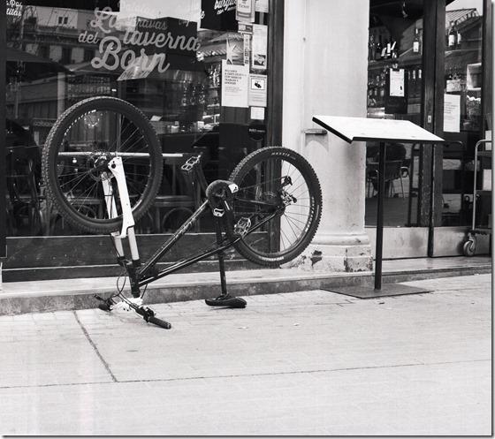 Wie parke ich mein Fahrrad BW 1600