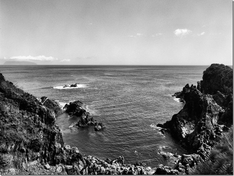 Flores Coast Corvo Background BW 3200 (Andere)